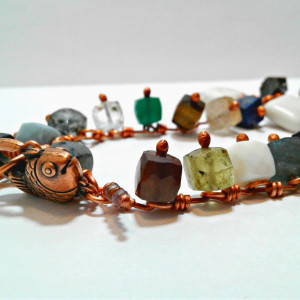 ACJ Gemstone Energy bracelet