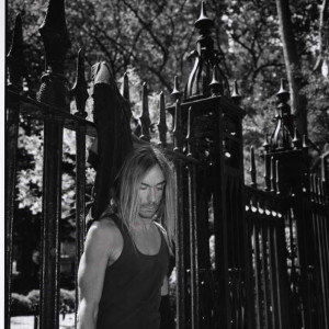 Iggy Pop shot in NYC for British music magazine Kerrang!
