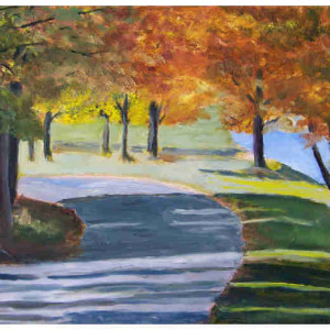 Marsh Creek Autumn 1 oil 8 x 10