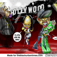 RHIANA, CHRIS BROWN ,JAY Z CARICATURE FOR BLACK URBAN TIMES