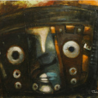 Careta / 2012 / Acrylic on canvas