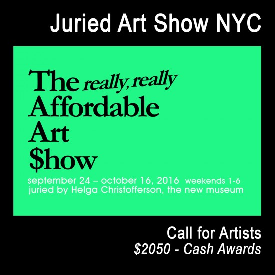 Really, Really Affordable Art Show