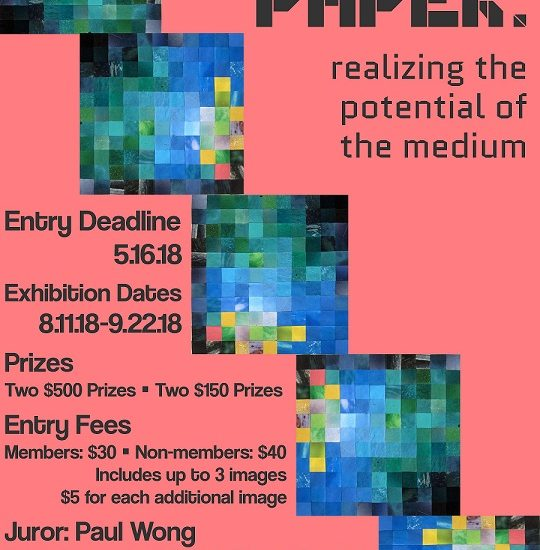 Pushing Paper – Call For Artists