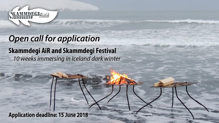 Skammdegi Residency And Festival – Call For Artists