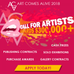 Art Comes Alive 2018 – Call For Artists