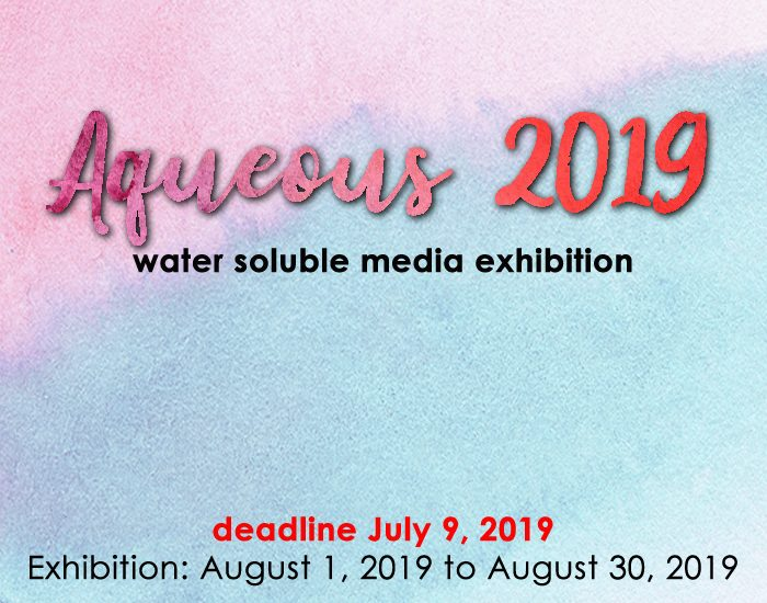 Aqueous 2019: Water Soluble Media (Laguna Beach, CA) – Call For Artists