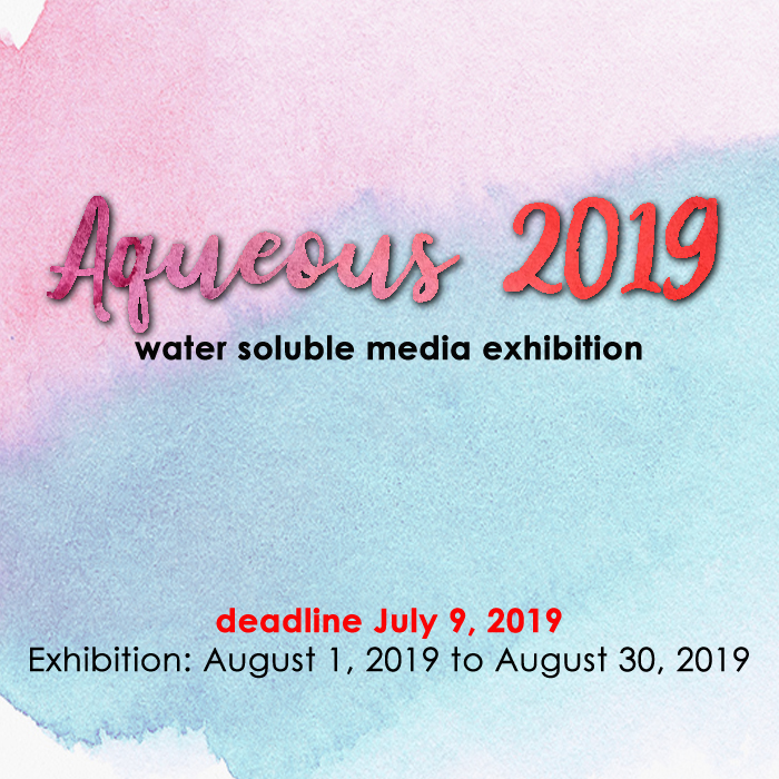 Aqueous 2019: Water Soluble Media (Laguna Beach, CA) – Call For Artists