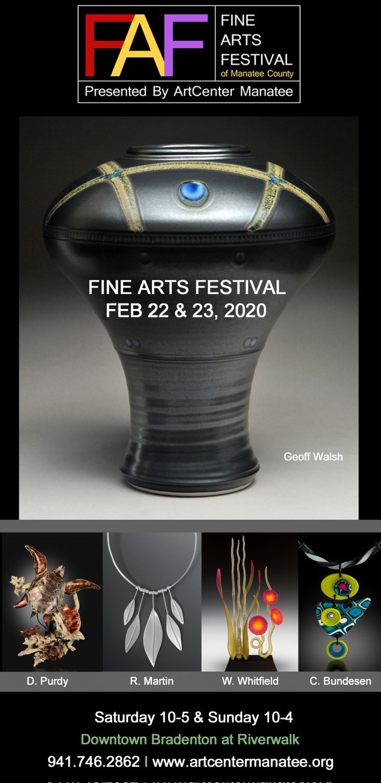 Fine Arts Festival Of Manatee County 2020 (Bradenton, FL) – Call for Artists