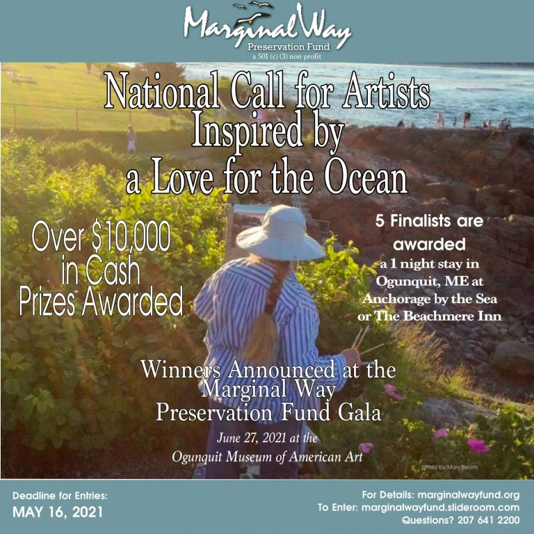 Fine Art Competition (Ogunquit, ME) – Call For Artists