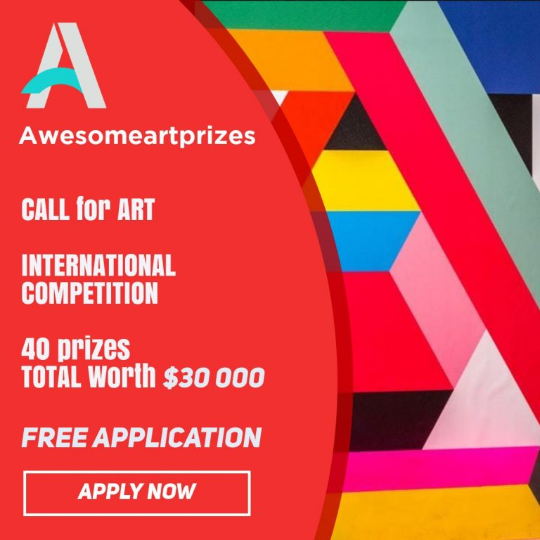 Awesome Art Prizes Spring Edition (Online Competition) – Call For Artists