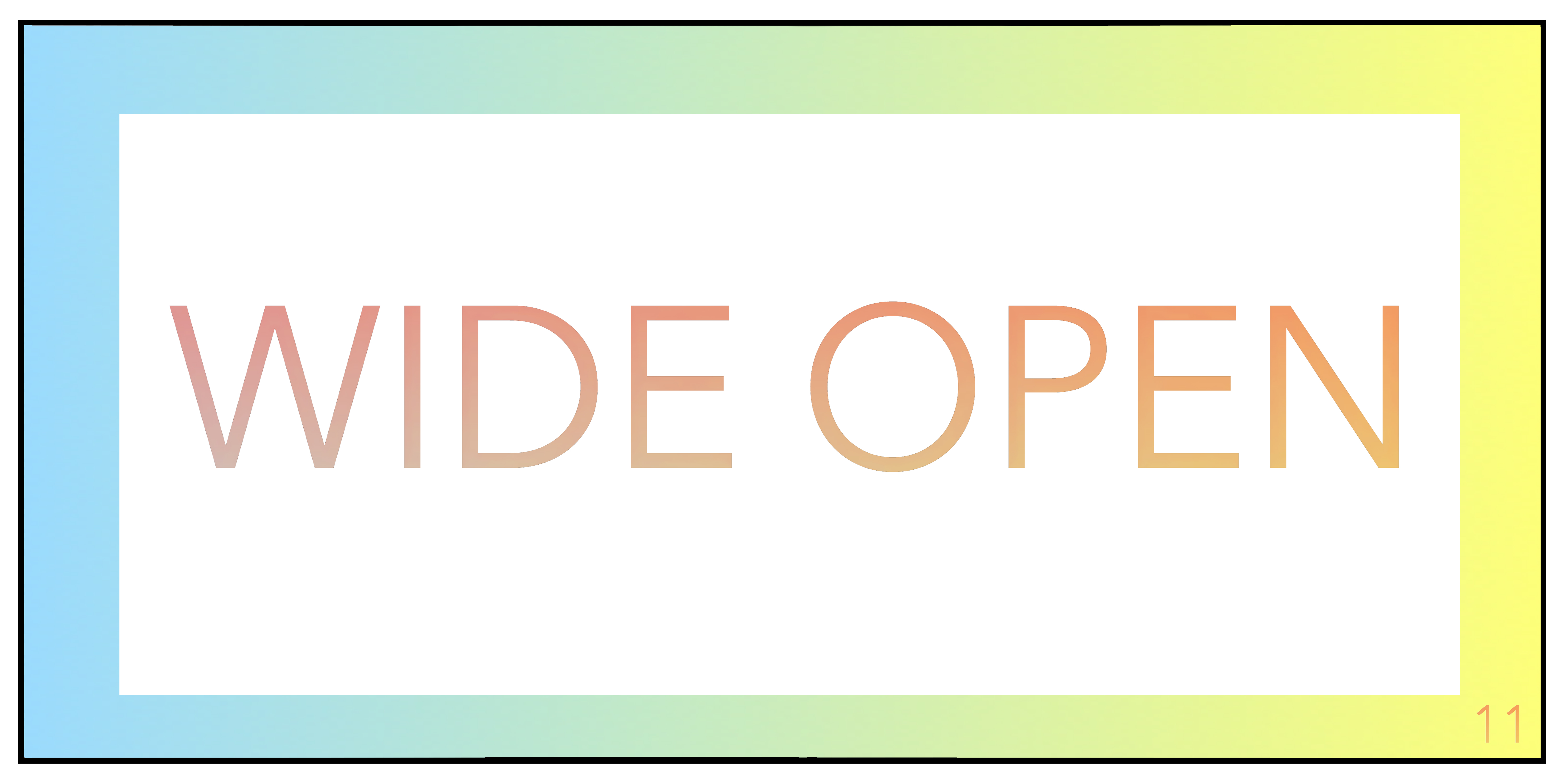 Wide Open 11 (Brooklyn, NY) – Call For Artists