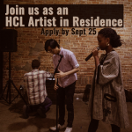 HCL Artist In Residence Program (Chicago, IL) – Call For Artists