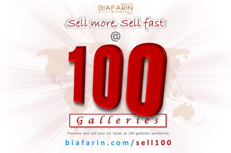Sell At 100 Galleries (Online Art Exhibition) – Call For Artists
