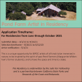 Pond Farm Artist In Residence Program (Guerneville, CA) – Call For Artists