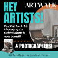 ArtWalk Magazine Summer 2021 Issue – Call For Artists