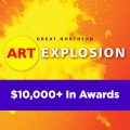 Art Explosion – $10,000 in Awards (Grayling, MI) – Call For Artists