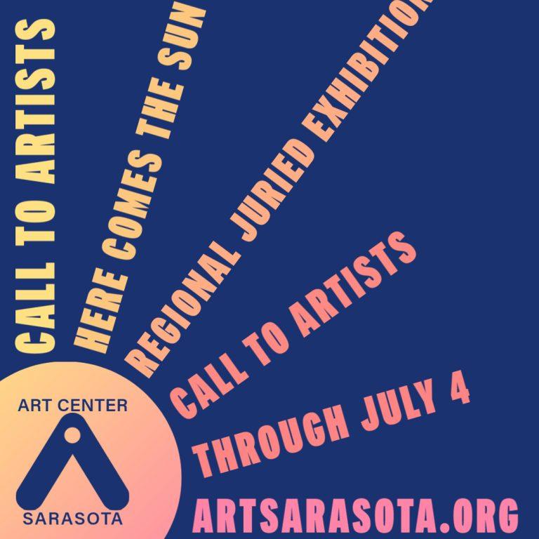 Here Comes The Sun (Sarasota, FL) – Call For Artists
