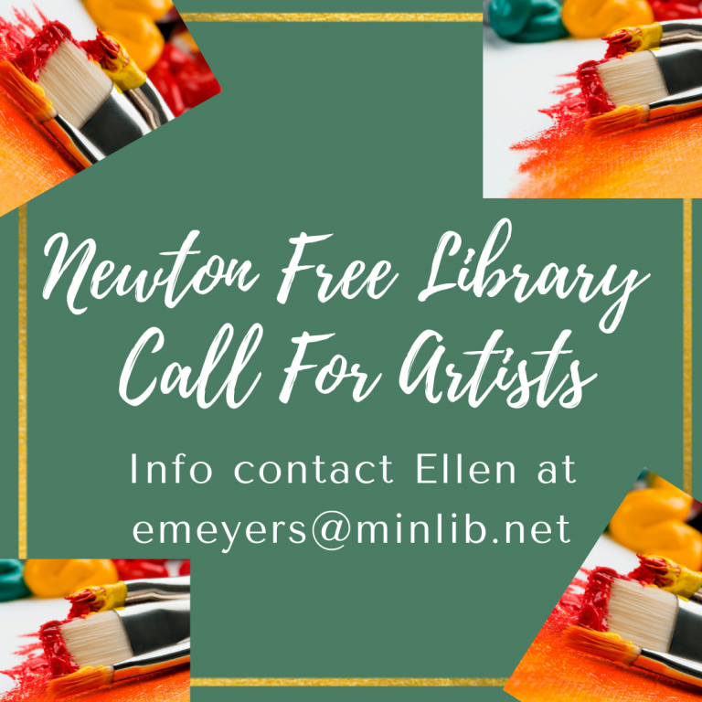 Newton Free Library Exhibitions (Newton, MA) – Call For Artists